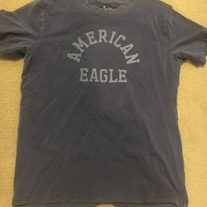 American Eagle Outfitters Mens Large Navy Blue T
